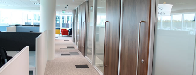 High Quality Finishes in the Cork Office